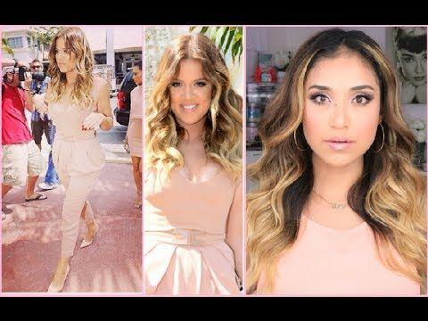 My First Spanish video!! Maquillaje Estilo A Khloe Kardashian - YouTube