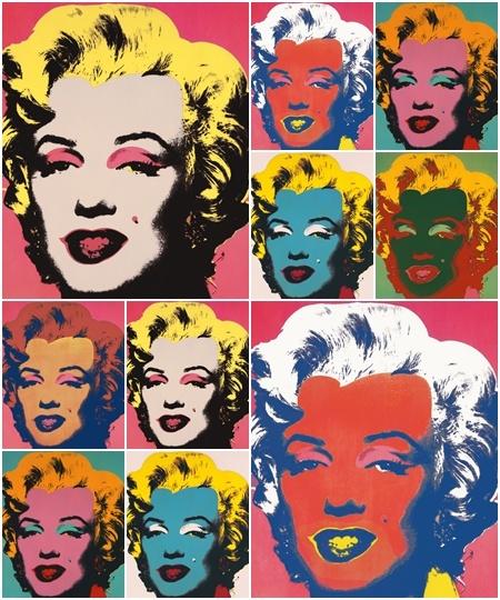 <'마릴린 먼로' /1967 >지난 10여 년간 전 세계에서 가장 많은 전시회가 개최됐고, 매년 피카소와 함께 옥션 거래 총액 1, 2위를 차지하는 작가. 바로 팝아트의 제왕 앤디 워홀(Andy Warhol·1928~1987)이다.