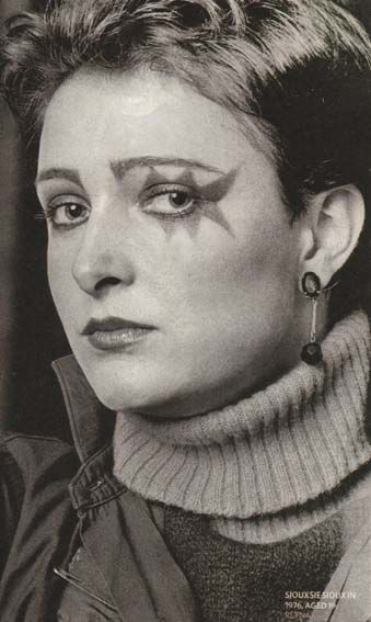 Siouxsie, very young (1976)