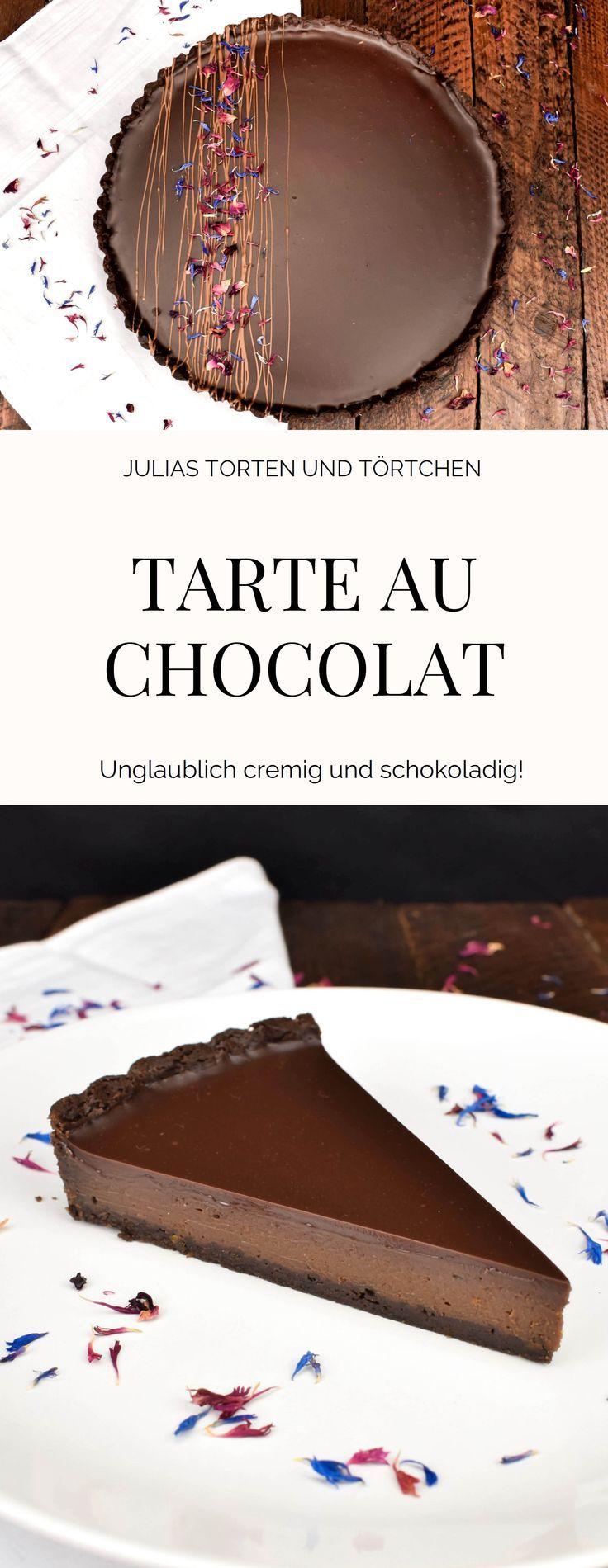 Tarte au chocolat Französische Variante der Scho…