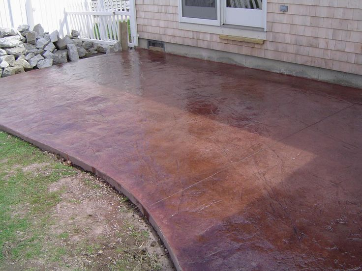 Enchanting Large Concrete Patio Pavers On Slap Brush Texture .