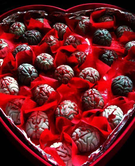 Recipe for Zombie Brain Truffles!