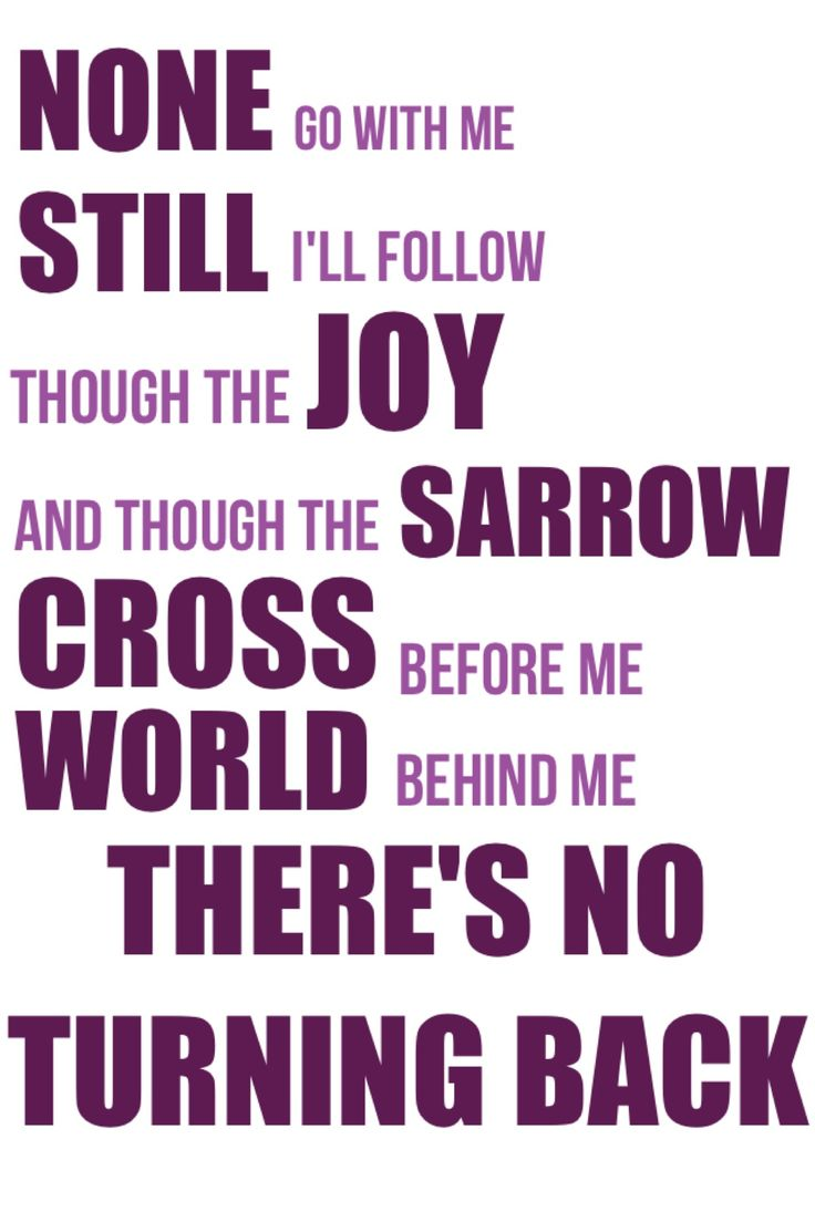 "From ""Brave"" by Moriah Peters  ... (Whoops! Typo *sorrow ;)"