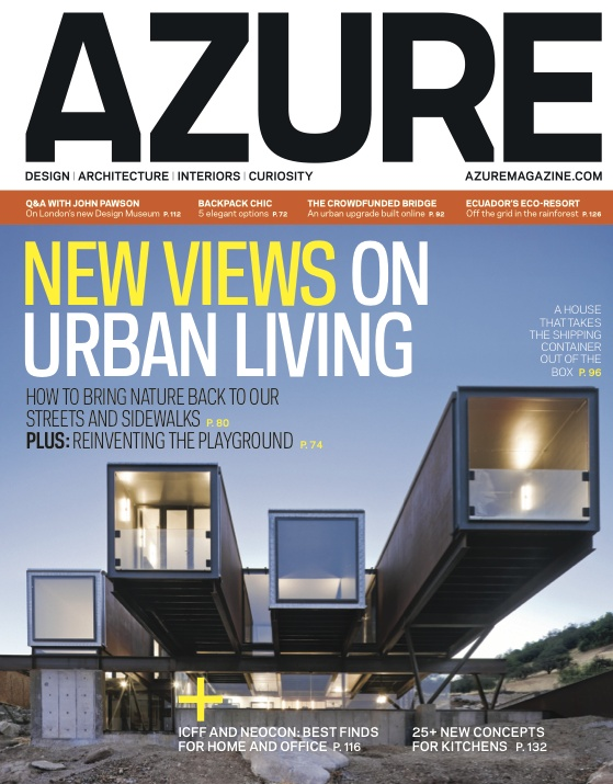 """Nominated in Art Direction for an Entire Issue. """"September 2012"""" by Karen Simpson published by #Azure."""