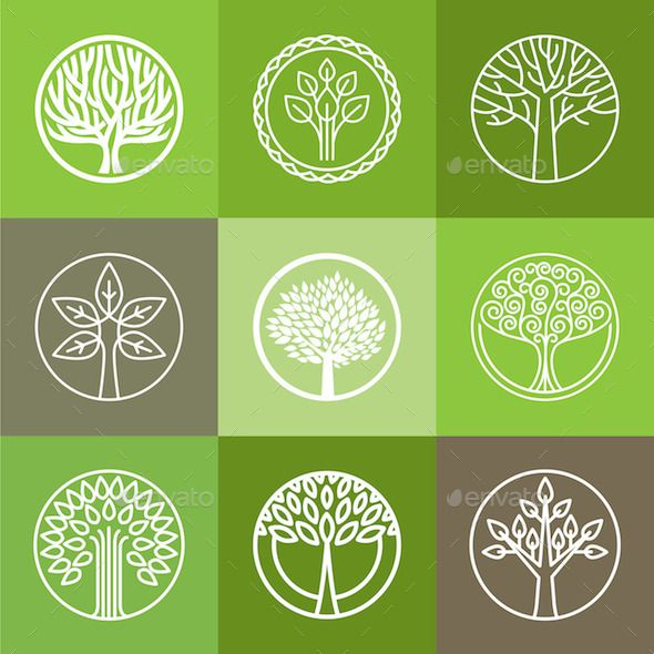 Tree Logo Set                                                                                                                                                                                 More