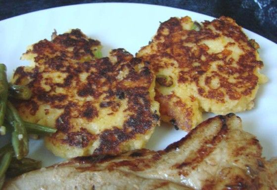 Easy Cheddar Potato Cakes Made With Instant Potatoes) | Food.com