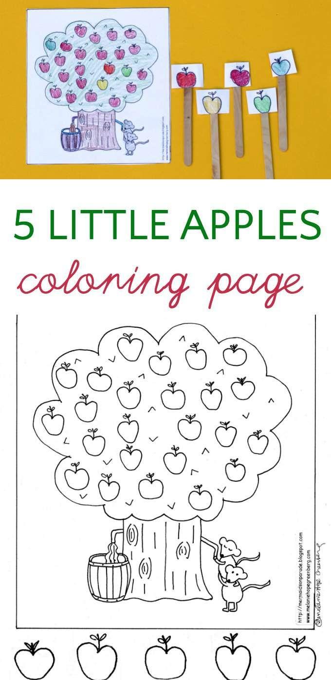 Fall Fun Apple Tree Coloring Page Crayola Coloring Pages Tree Coloring Page Preschool Coloring Pages