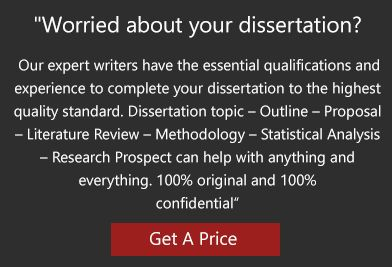Proposal and dissertation help writing services