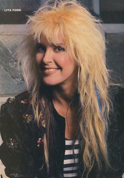 Lita Ford Today | LITA FORD pinup – ROCK 'N' ROLL MADE ME WHAT I AM TODAY