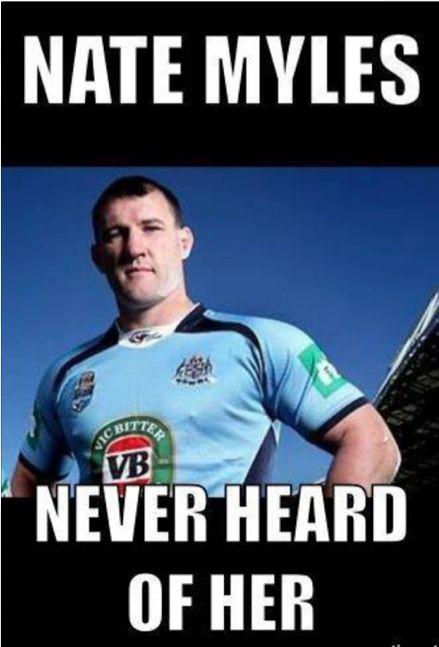 Go the Blues.......Aussie rugby league