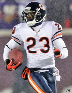 Hester owns the NFL's all-time record with 17 combined kick return touchdowns.