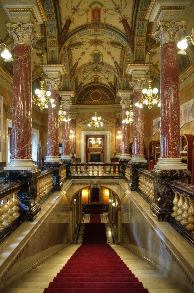 Hungarian Parliament - inside