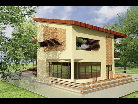 House plans with photos. Interior design and 3d elevations. House CA03.