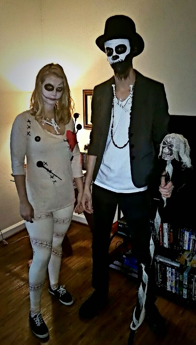 Couples Costume - Voodoo Doll & Witch Doctor (lowkey future couple goals)
