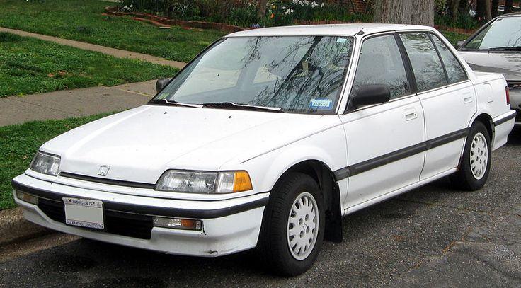 Honda Civic Sedan - Fourth Generation (1988 - 1991)
