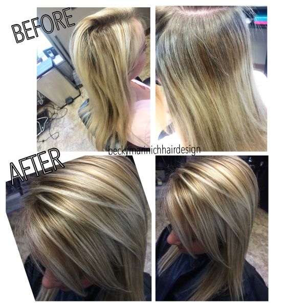 Tone Down Red Hair Color Latest Ideas For Brown With And Blonde Highlights