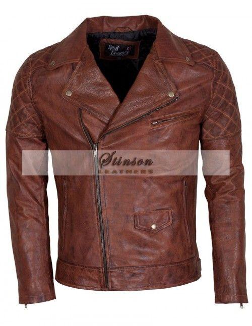Designer Men Black Brown Celebrity Replica  Leather Jackets