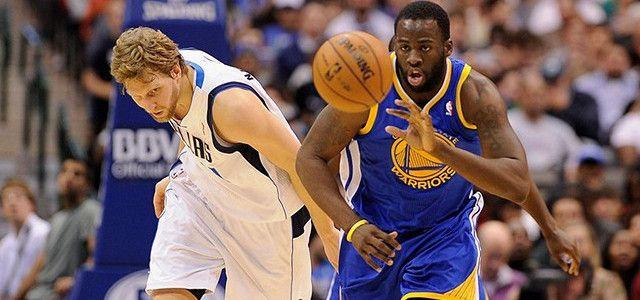 Draymond Green - Golden State Warriors - Klay Thompson - Stephen Curry - James Harden - Houston Rockets