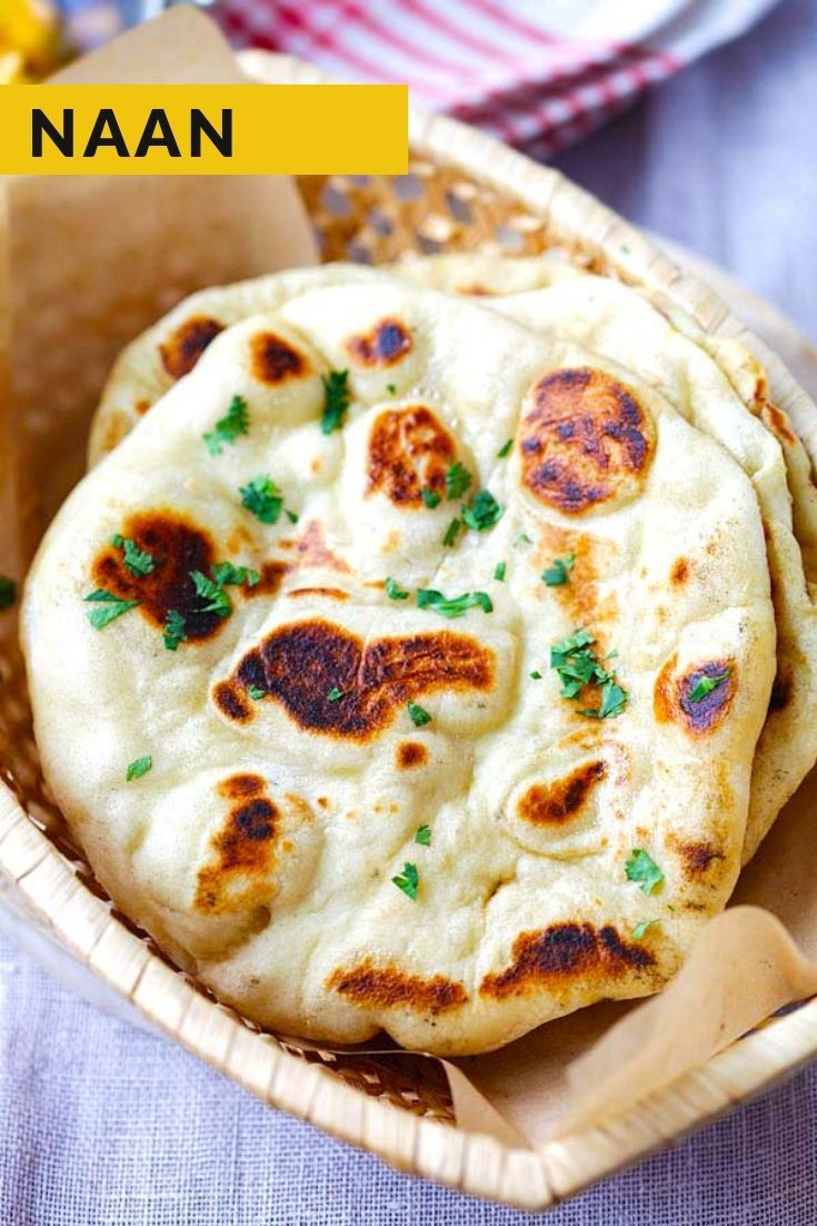 Naan (With images)   Naan recipe, Recipes