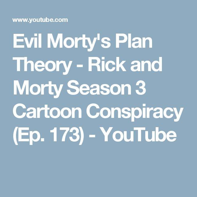 Evil Morty's Plan Theory - Rick and Morty Season 3 Cartoon Conspiracy (Ep. 173) - YouTube