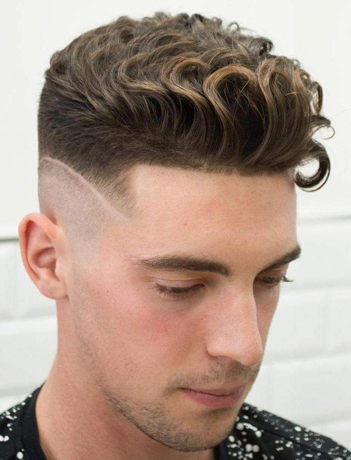 Curly Undercut with a Disconnected Fade | Men Hairstyles Undercut ...