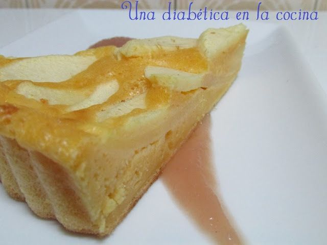 Una diabética en la cocina: Tarta de manzana apta para diabéticos por raciones de hidratos de carbono