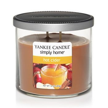 Yankee Candle simply home 10-oz. Hot Cider Jar Candle