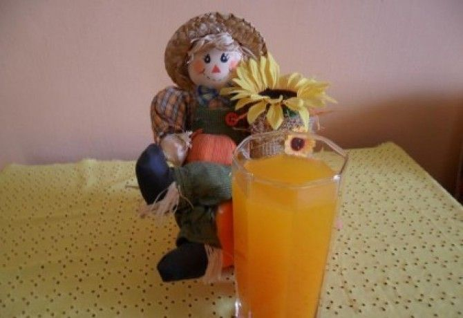 Rostos sárgarépa ital