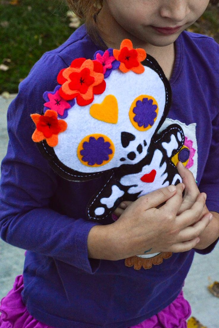 Aesthetic Nest: Craft: Day of the Dead Doll (Free Pattern ...