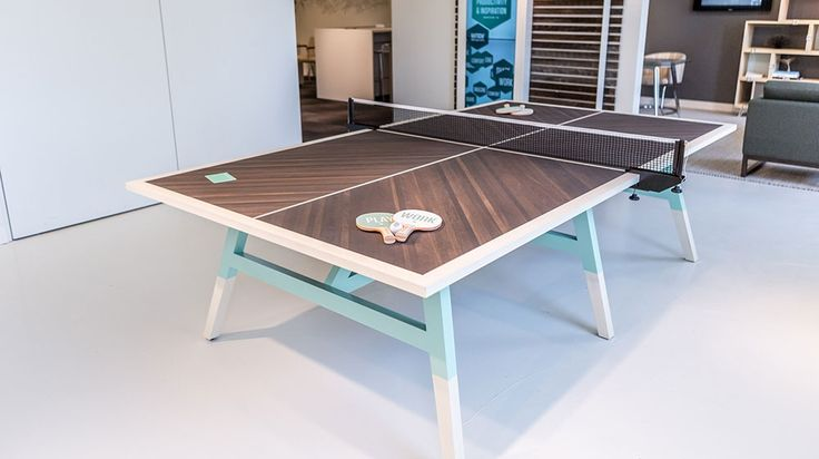 Delightful Custom Riff Ping Pong Table | OFS | NEOCON U002714 | Pinterest | Ping Pong Table,  Game Rooms And Room