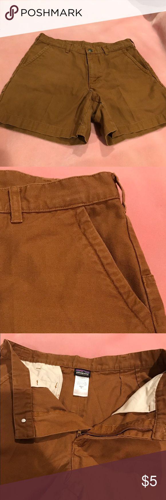 "Patagonia Men's Shorts 34 waist. 6"" inseam. Rust. Patagonia Men's Shorts. 34"" waist. 6"" inseam. Color:  Rusted Iron. Beautiful color. Patagonia Shorts Flat Front"