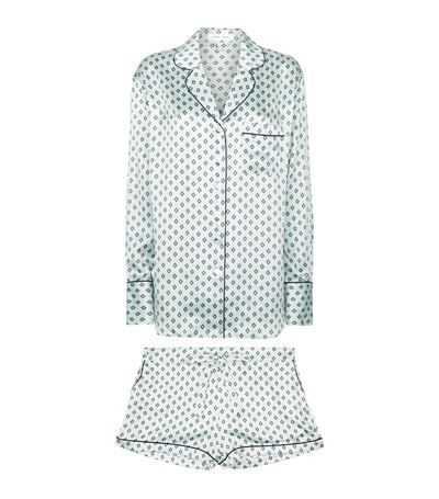 Olivia von Halle Alba Charity Silk Pyjamas available to buy at Harrods. Shop women's designer fashion online and earn Rewards points.