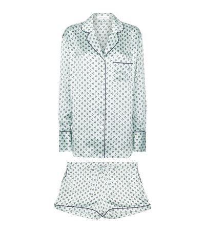 Olivia von Halle Alba Charity Silk Pyjamas available to buy at Harrods. Shop women's designer fashion online and earn Rewards points.