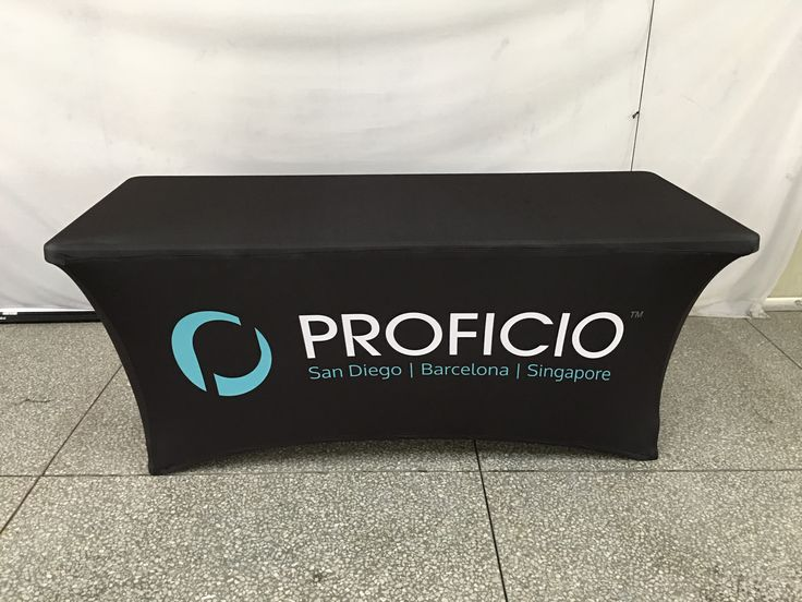 Proficio is based in Carlsbad, California with offices in Singapore and Barcelona, Spain, Proficico is the trusted managed security service provider for some of the world's leading utility, healthcare, industrial and consumer-focused organizations. #ohmyprint #tablecloth #stretch #spain #barcelona #california #singapore #canada #usa #printing