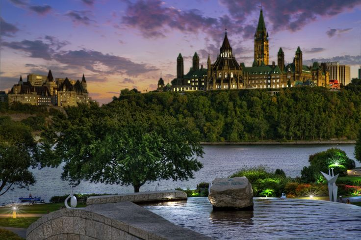 View of the Parliament of Canada : Duskify   Get More Clicks on Your MLS Listings