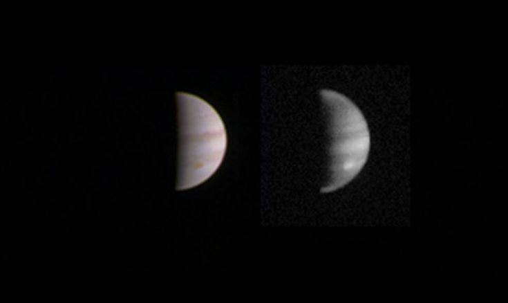NASA's Juno shuttle gets up close and personal with Jupiter