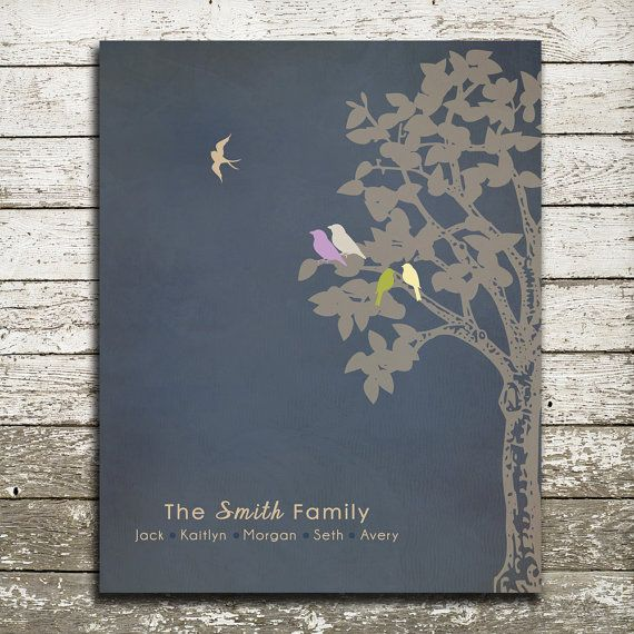 Miscarriage Gift Print - Infant Loss Keepsake, Death of Loved One - In Memory of Baby Family Print