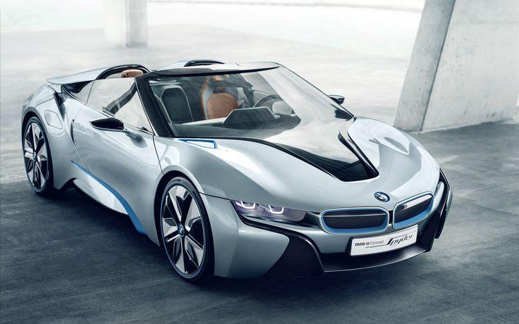 BMW I8 Concept Pyder HD Wallpaper