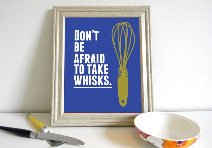 Funny Kitchen Art Print 8 x 10. via Etsy.