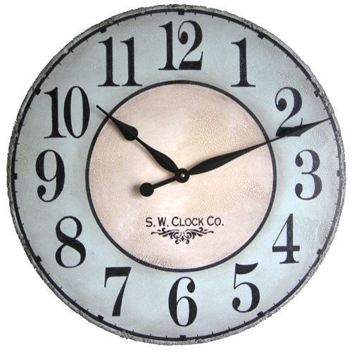 north haven french gallery 30 inch extra large wall clock 89 with free shipping customize