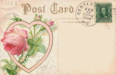 heart postcard and a bunch more hearts on this post!
