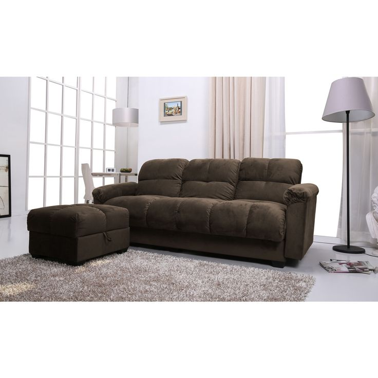 Phila Olive Sofa Bed/ Ottoman Set | Overstock Shopping - Big Discounts  On