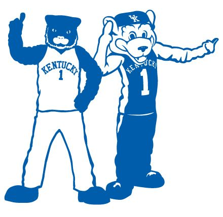 The University of Kentucky Wildcats mascots, Wildcat and Scratch. | College Mascots: SEC ...