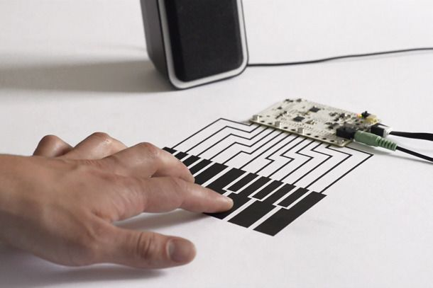 sensory - (brendan dawson talk) Touch Board kit combines an Arduino heart with touch sensors, conductive paint