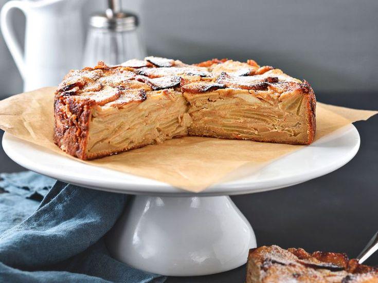 Gâteau aux pommes sans pâte