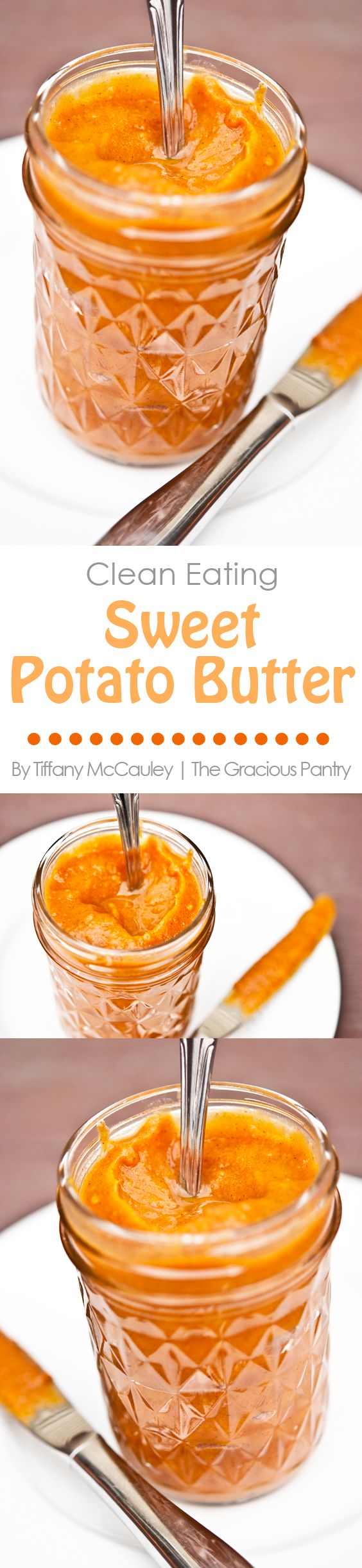 This wonderful sweet potato spread is perfect on morning toast or over waffles or pancakes! Makes a great, sweet dip for crackers too!