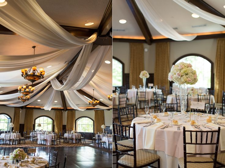 The Ballroom At Saratoga National Is All Ready For Wedding Reception We Love These Tall Centerpieces Created By Felthousen S Florist