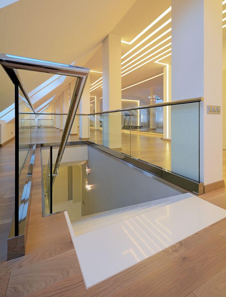 Дизайн интерьера мансарды загородного дома Санкт-Петербург (2000 кв.м.) - Дизайн-студия ICON