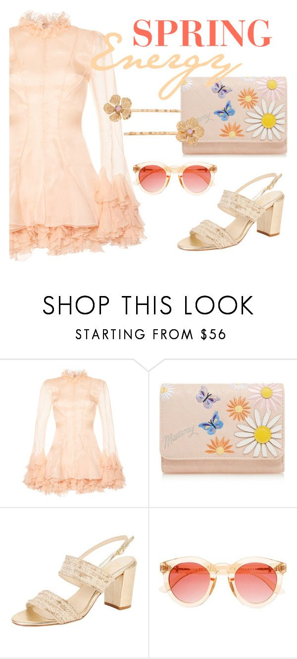 """Spring Energy"" by ddalginanabeauty ❤ liked on Polyvore featuring Francesco Scognamiglio, Mantaray, Butter Shoes, Crap and LC Lauren Conrad"