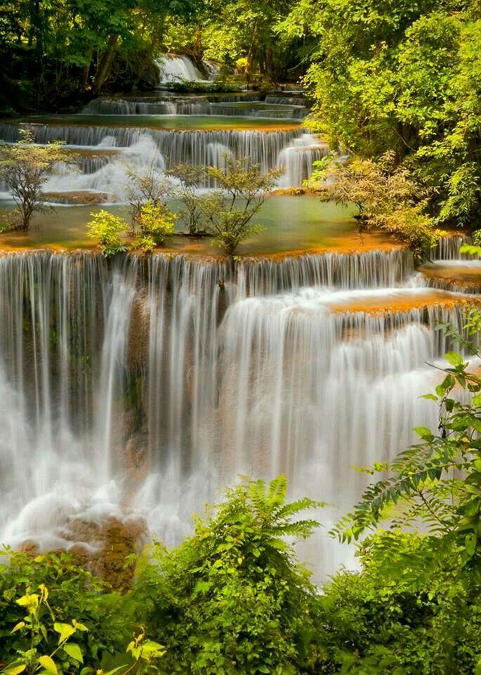 Pin By D W A L K On Waterfalls Beautiful Waterfalls Scenic Waterfall Waterfall